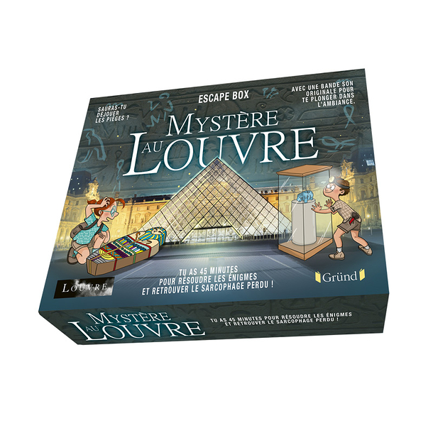 Escape box - Mystery at the Louvre