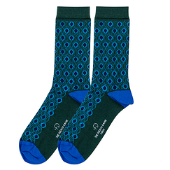 Louis XIV Socks 40/44 - Emerald green - The French game