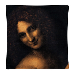 Cushion cover Saint John the Baptist - Leonardo da Vinci