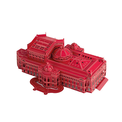 Laser model of Opéra Garnier - Red