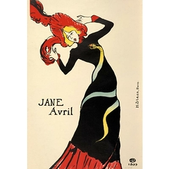 Jane Avril (avec la robe au serpent)