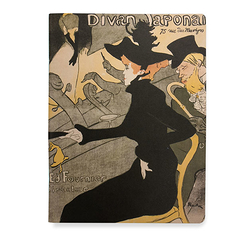 "Notebook - Toulouse Lautrec ""Japanese Divan"""