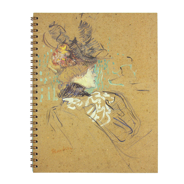 Spiral notebook - Madame Lucy - Toulouse-Lautrec