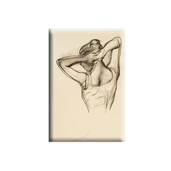 Magnet Degas Dancer, half-body