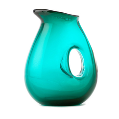 Jug with Hole Sea green - Pols Potten