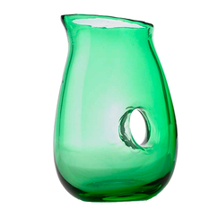 Jug with Hole green - Pols Potten