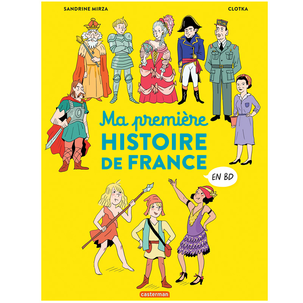 My first history of France in comics