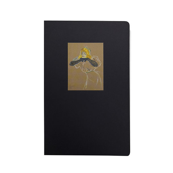 "Notebook - Toulouse - Lautrec ""Yvette Guilbert"""