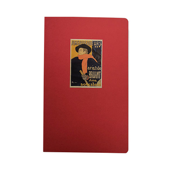"Notebook - Toulouse - Lautrec - ""Aristide Bruant"""