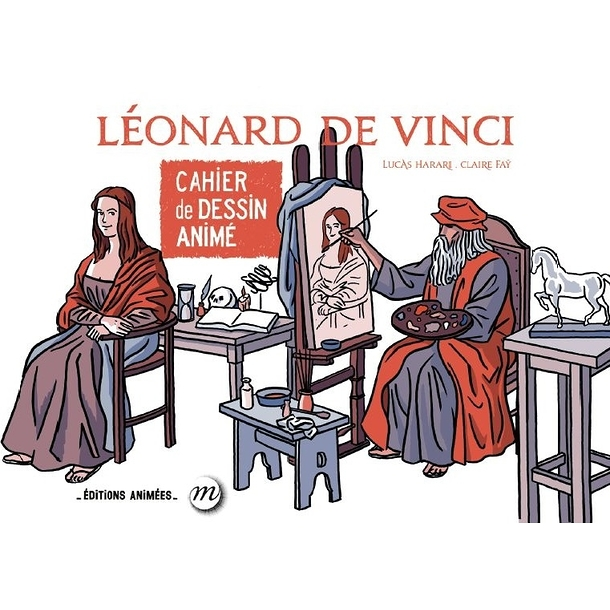 Leonard da Vinci - Cartoon book