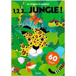 1, 2, 3... jungle! A picture to count