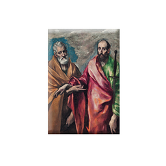 Magnet El Greco Saint Peter and Saint Paul