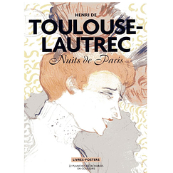 Henri de Toulouse-Lautrec - Nights of Paris - 22 detachable color plates