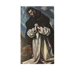 Notebook - Greco - Saint Dominic in prayer