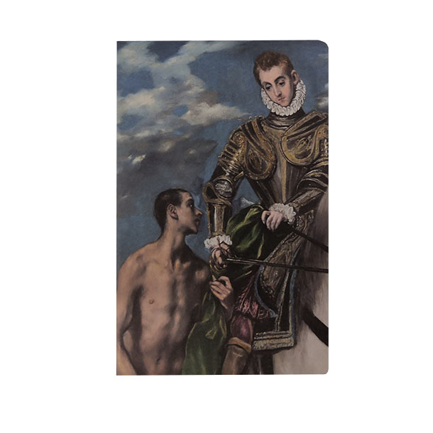 Notebook - Greco - Saint Martin and the poor