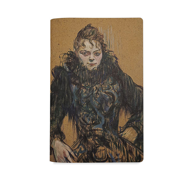Notebook - Toulouse - Lautrec - Woman with black boa
