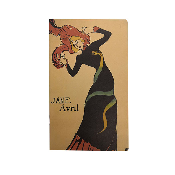 Notebook - Toulouse - Lautrec- Jane Avril