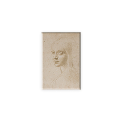 Leonardo da Vinci Magnet - Head of a woman study