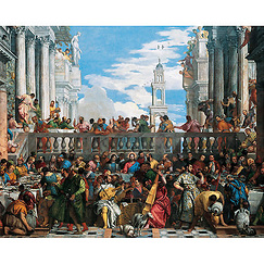 The Wedding feast at Cana Poster