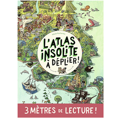 The unusual atlas to unfold! - 3 meters of reading