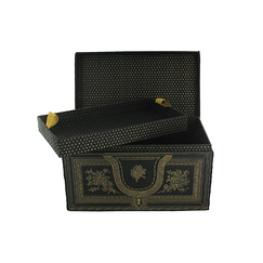 Jewellery box - Black and gold