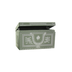 Jewellery box - Bronze and silver