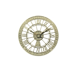 Orsay Museum Clock Magnet - Gold