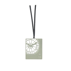 Orsay Museum Clock Bookmark - Silver