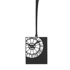 Orsay Museum Clock Bookmark - Black