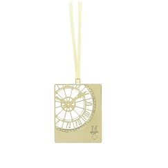 Orsay Museum Clock Bookmark - Gold