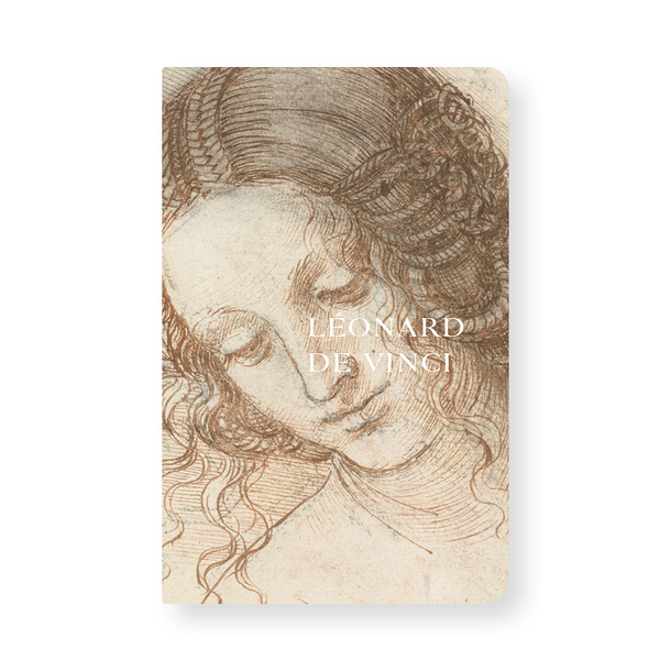 Notebook Head of Leda - Leonardo da Vinci