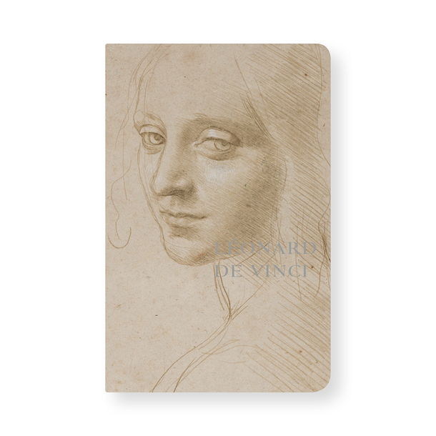 Notebook Leonardo da Vinci - Women's head studies