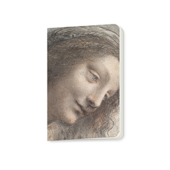 Small notebook Leonardo da Vinci - The Head of the Virgin