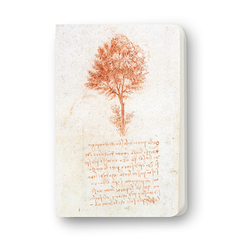 Notebook Leonardo da Vinci Isolated tree