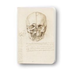 Notebook Leonardo da Vinci Study of a skull