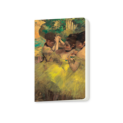 Small notebook Edgar Degas - Yellow Dancers
