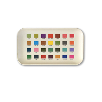 Small colour chart Tray