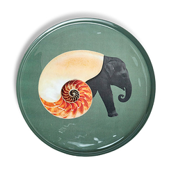 Shellelephant Rounded tray - Gangzaï