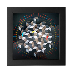 Hexagon Clock - CleverClocks