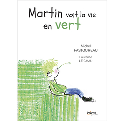 Martin sees life in green