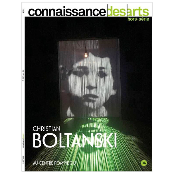 Christian Boltanski. Doing time at the Centre Pompidou - Connaissance des arts Special edition