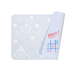 Mini Playmat Snow réversible - Super Petit