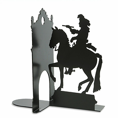 Equestrian statue of Louis XIV Bookend