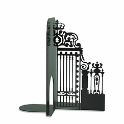 Gate of the Court of Honour - Black Bookend