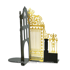 Gate of the Court of Honour - Gold Bookend