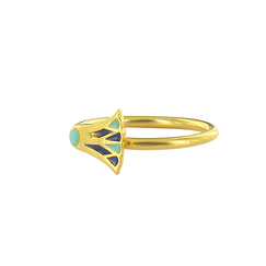 Adjustable ring Lotus
