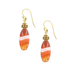 Persian Agate Earrings