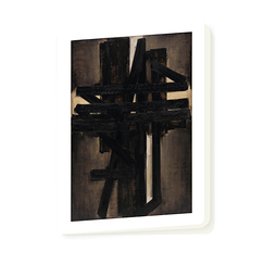 Notebook Pierre Soulages - Painting