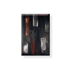 Magnet Soulages Painting