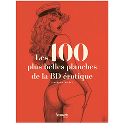 The 100 most beautiful plates of the erotic comic book